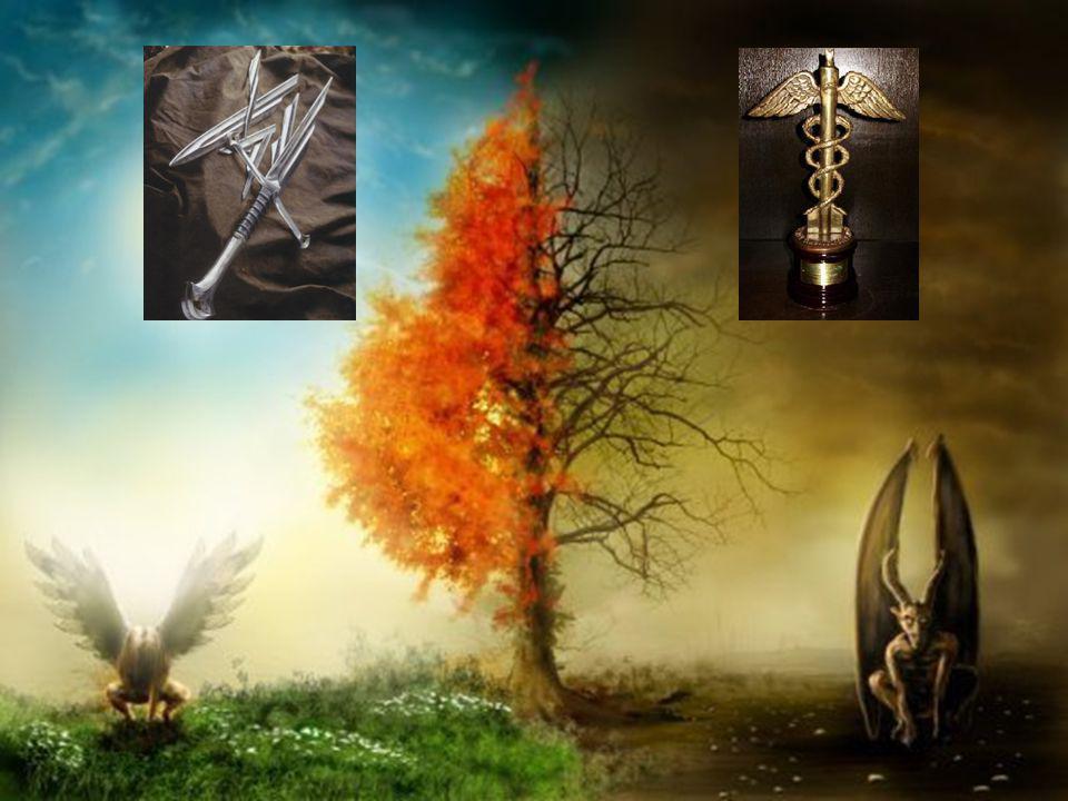 VIII. Gabriel La luz y la oscuridad son las dos eternas formas del mundo. Para el Absoluto el pasado, el presente y el futuro son uno .