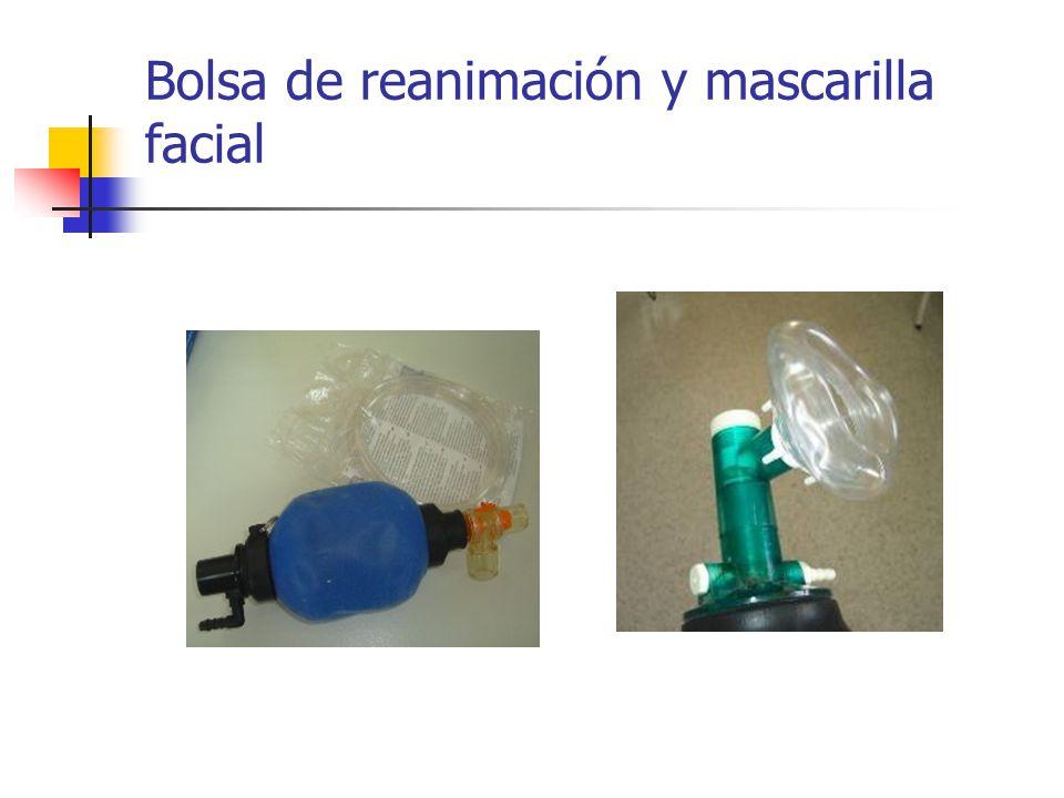 Bolsa de reanimación y mascarilla facial