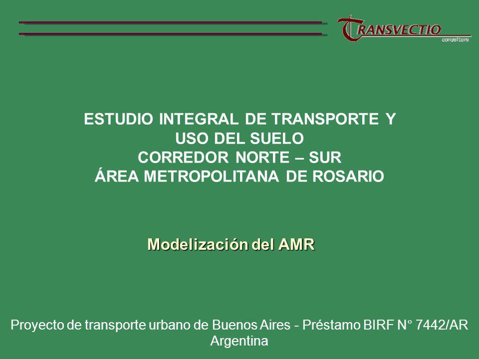 ESTUDIO INTEGRAL DE TRANSPORTE Y ÁREA METROPOLITANA DE ROSARIO