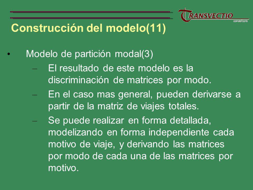 Construcción del modelo(11)