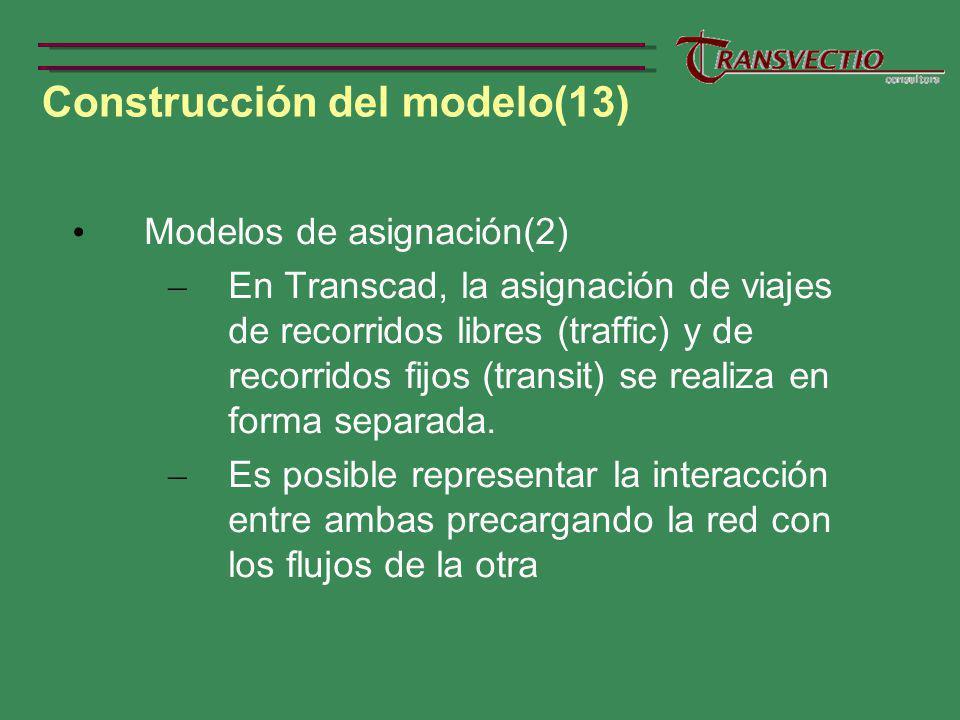 Construcción del modelo(13)