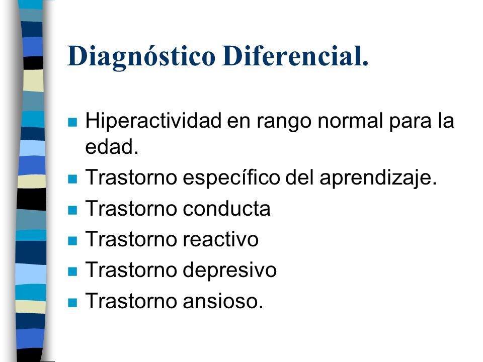 Diagnóstico Diferencial.