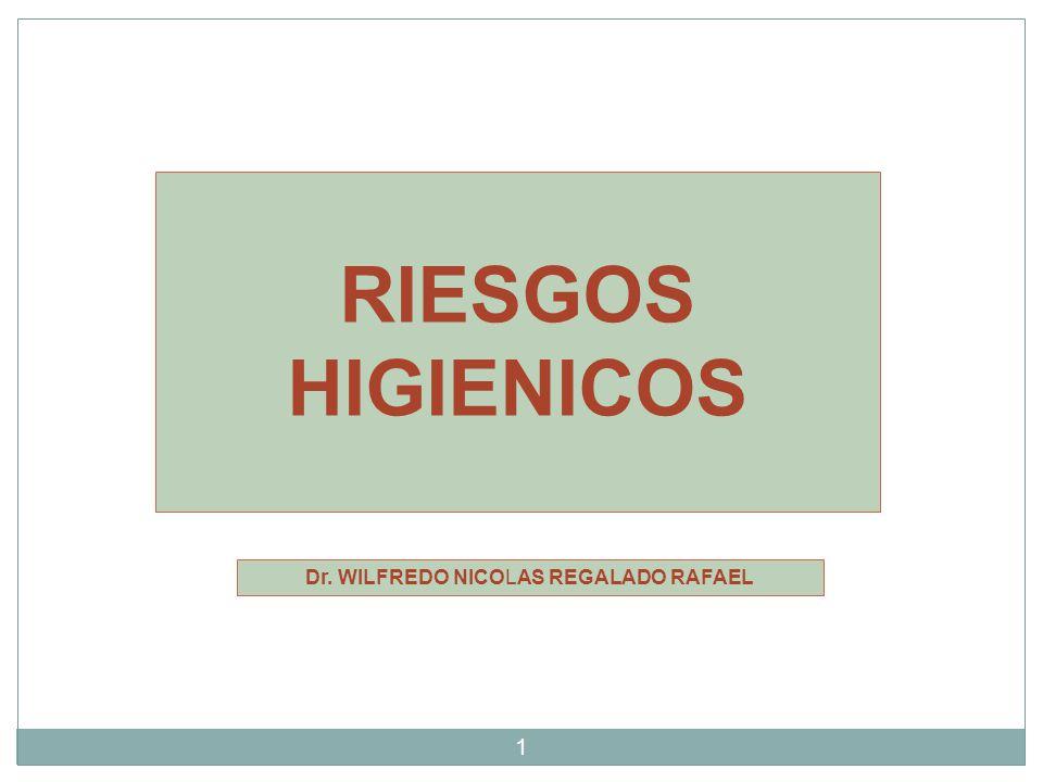 Dr. WILFREDO NICOLAS REGALADO RAFAEL