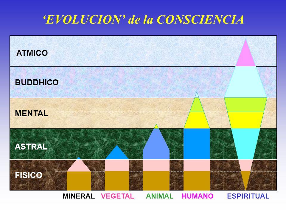 'EVOLUCION' de la CONSCIENCIA