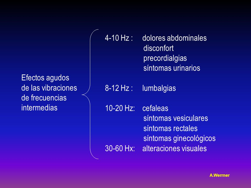 4-10 Hz : dolores abdominales disconfort precordialgias