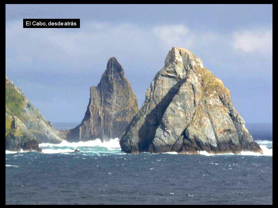 El Cabo, desde atrás