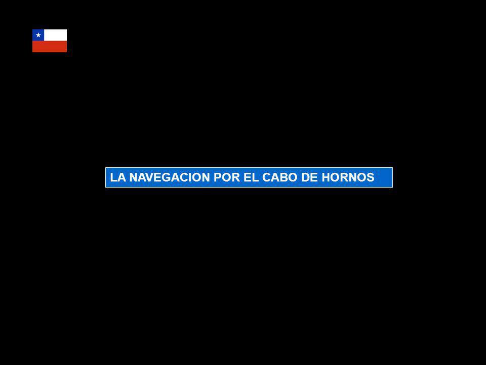 LA NAVEGACION POR EL CABO DE HORNOS