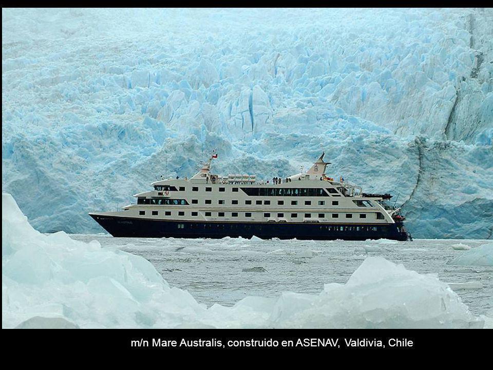m/n Mare Australis, construido en ASENAV, Valdivia, Chile