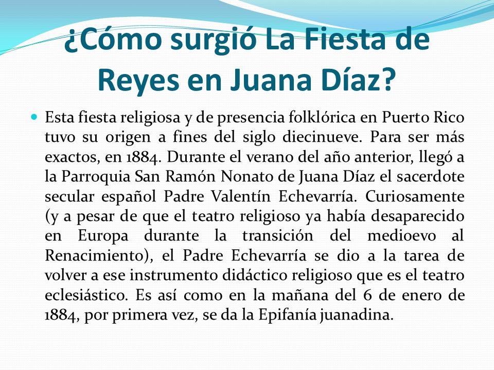 ¿Cómo surgió La Fiesta de Reyes en Juana Díaz