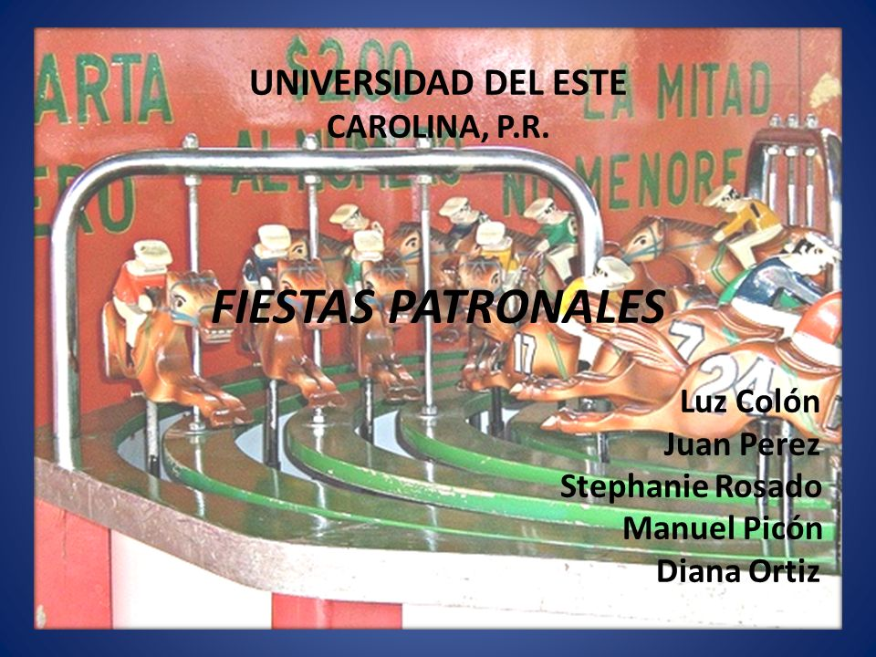 UNIVERSIDAD DEL ESTE CAROLINA, P. R