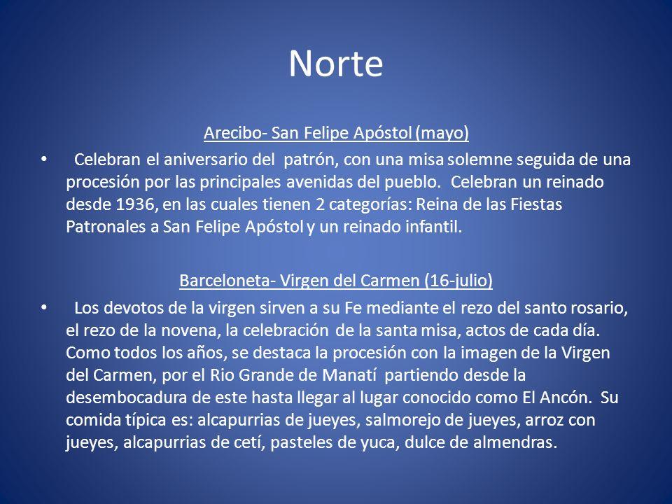 Norte Arecibo- San Felipe Apóstol (mayo)