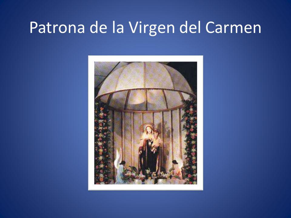 Patrona de la Virgen del Carmen