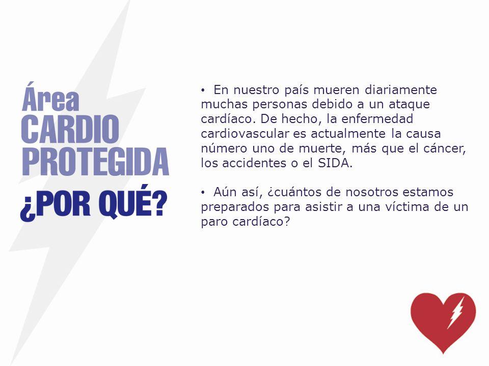 En nuestro país mueren diariamente muchas personas debido a un ataque cardíaco. De hecho, la enfermedad cardiovascular es actualmente la causa número uno de muerte, más que el cáncer, los accidentes o el SIDA.