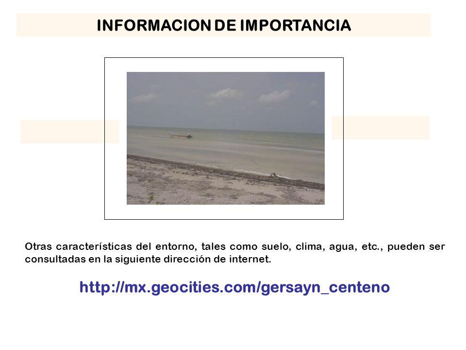 INFORMACION DE IMPORTANCIA