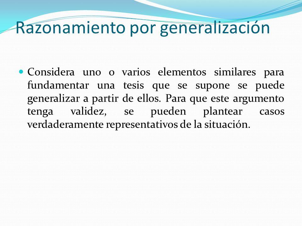 Razonamiento por generalización
