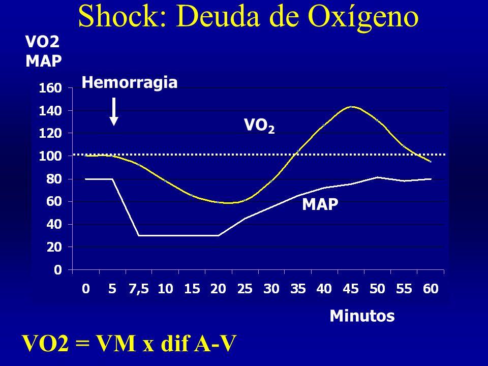 Shock: Deuda de Oxígeno