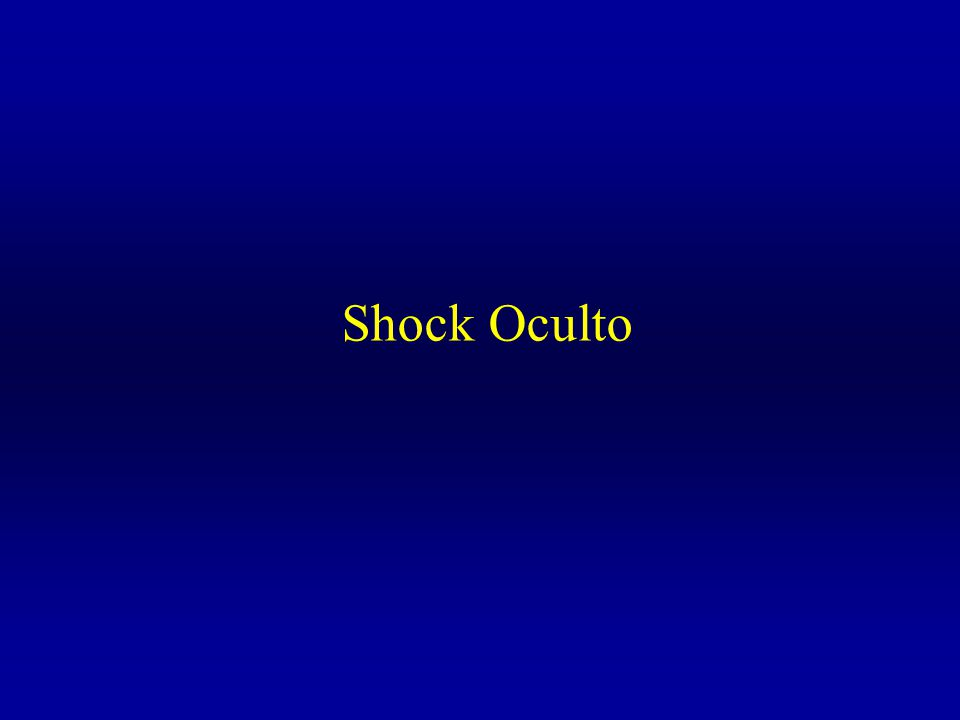Shock Oculto
