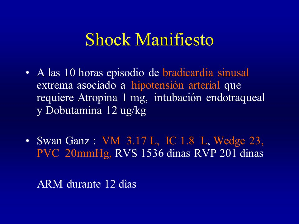 Shock Manifiesto