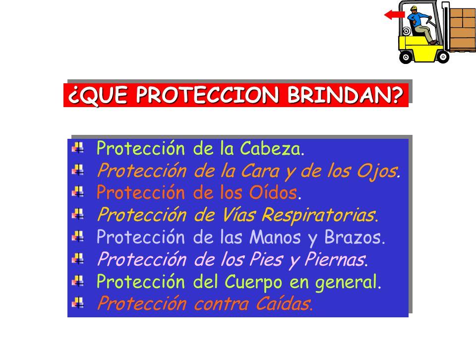 ¿QUE PROTECCION BRINDAN
