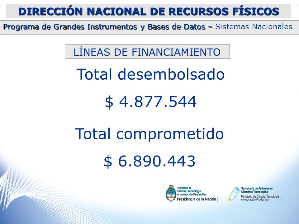 DIRECCIÓN NACIONAL DE RECURSOS FÍSICOS