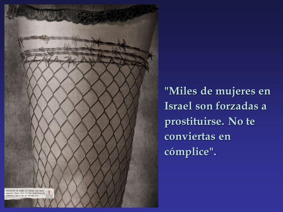 Miles de mujeres en Israel son forzadas a prostituirse