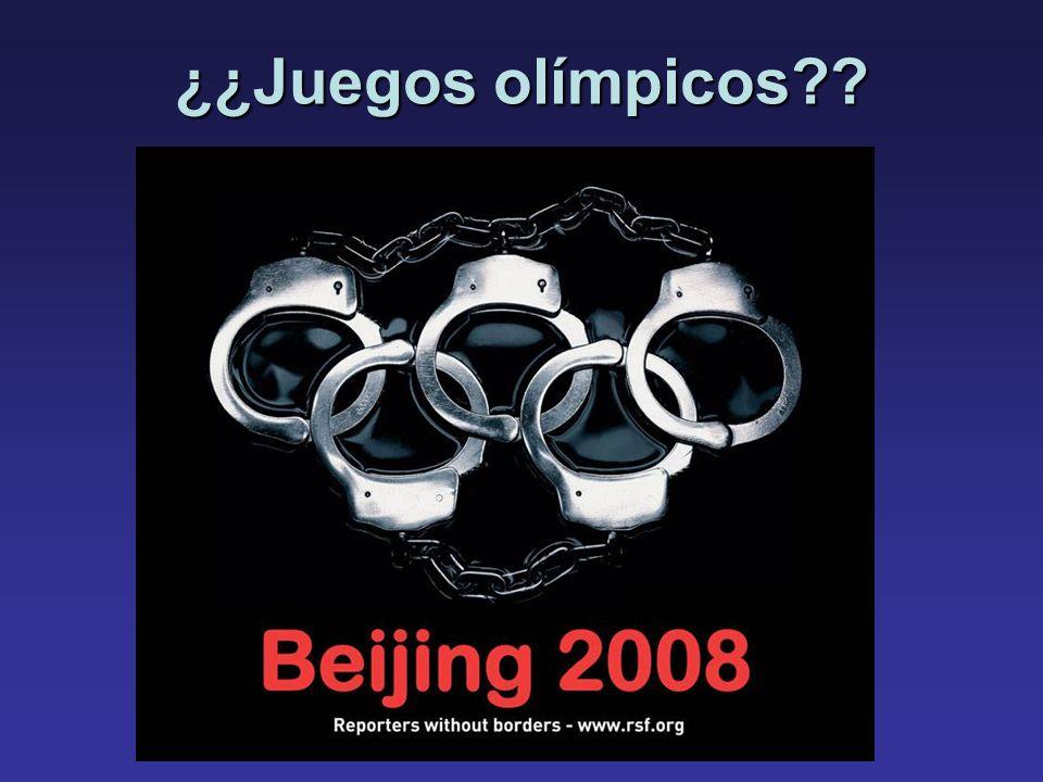¿¿Juegos olímpicos