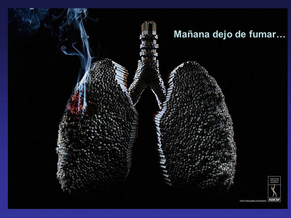 Mañana dejo de fumar…