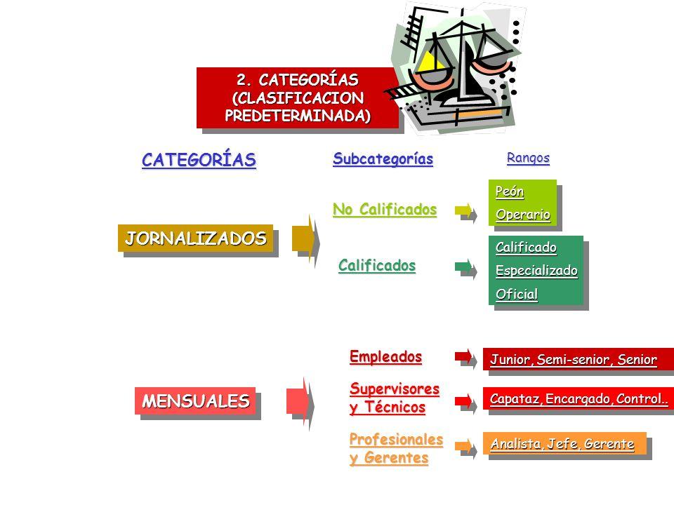 2. CATEGORÍAS (CLASIFICACION PREDETERMINADA)
