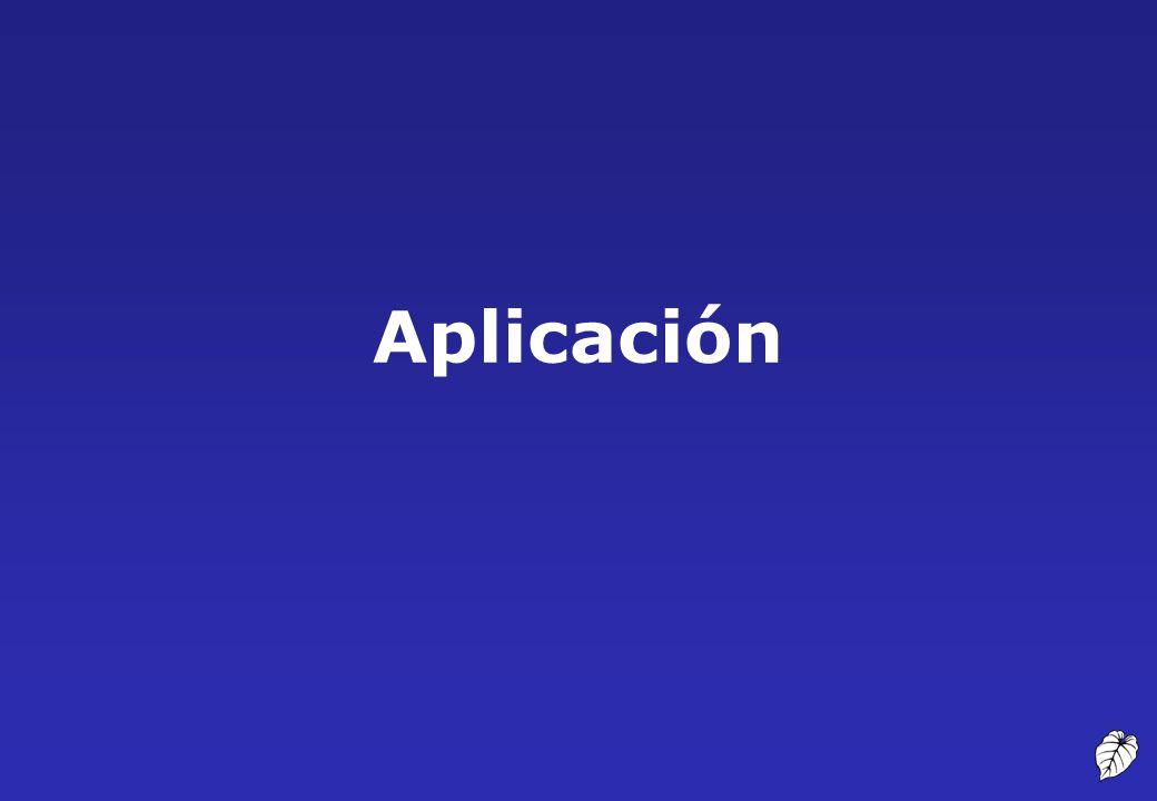 Aplicación 29 Aplicación
