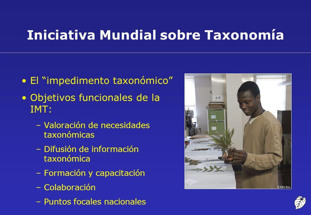 Iniciativa Mundial sobre Taxonomía