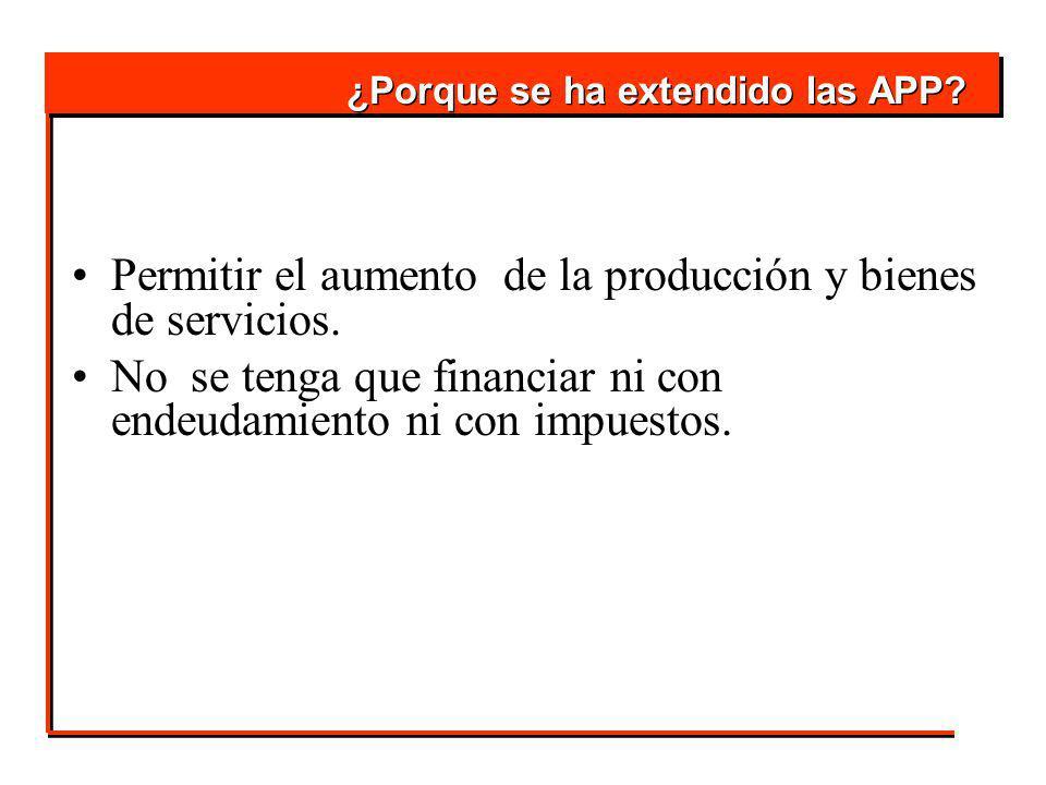 Permitir el aumento de la producción y bienes de servicios.