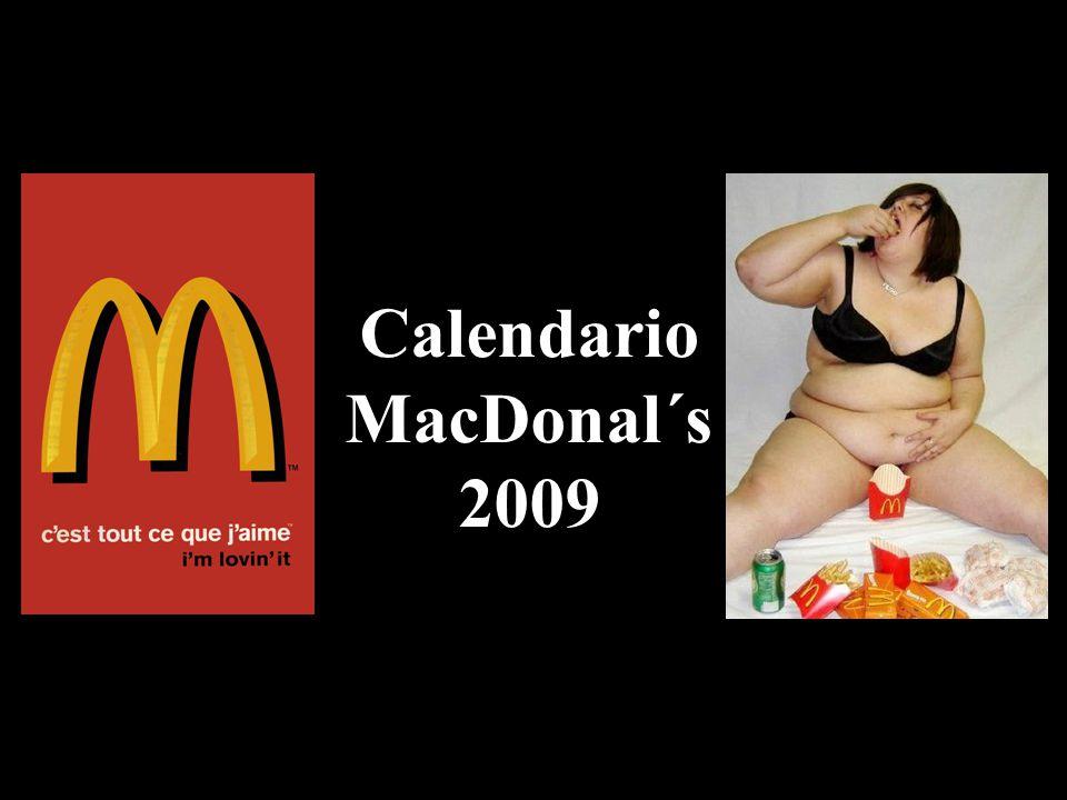 Calendario MacDonal´s 2009
