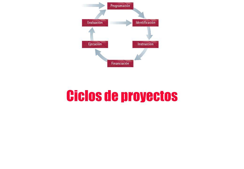Ciclos de proyectos