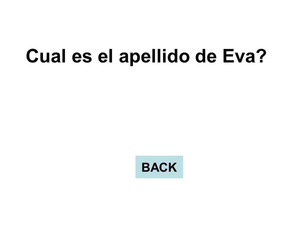 Cual es el apellido de Eva