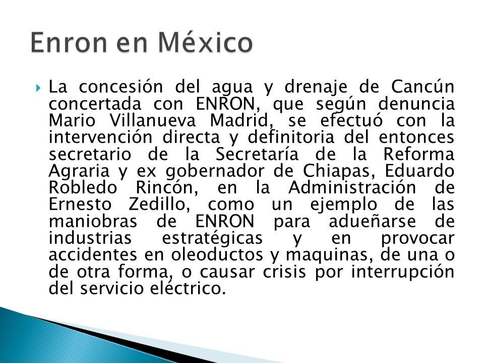 Enron en México