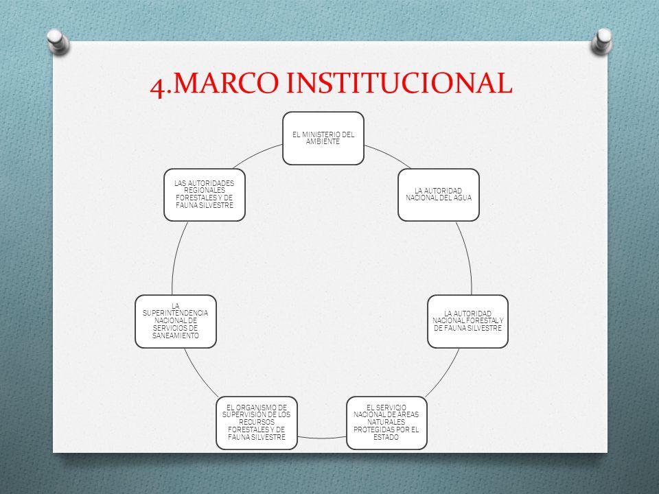 4.MARCO INSTITUCIONAL EL MINISTERIO DEL AMBIENTE
