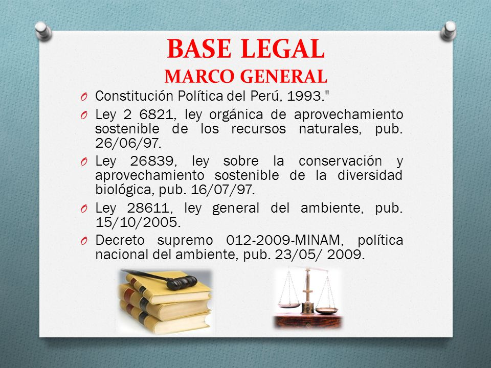 BASE LEGAL MARCO GENERAL