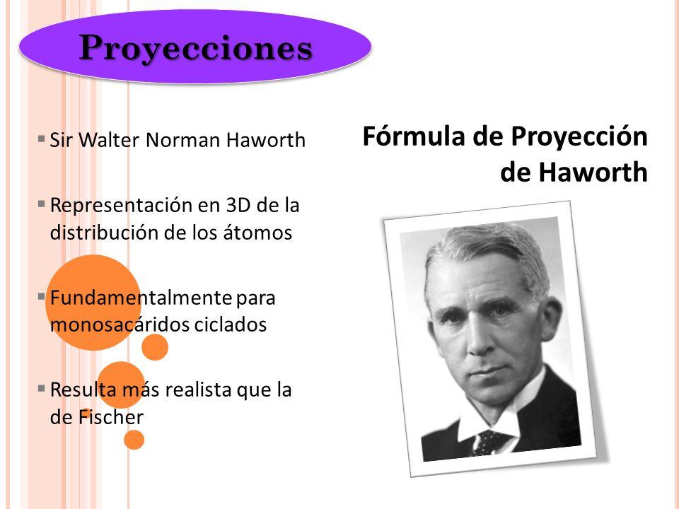 Proyecciones Fórmula de Proyección de Haworth