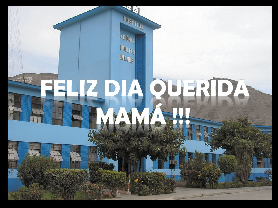 FELIZ DIA QUERIDA MAMÁ !!!