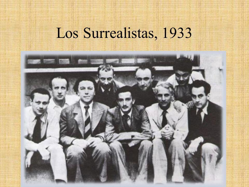 Los Surrealistas, 1933