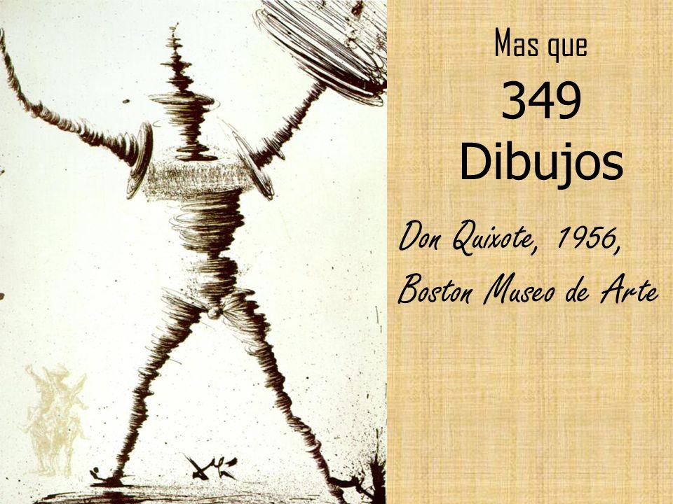 Don Quixote, 1956, Boston Museo de Arte
