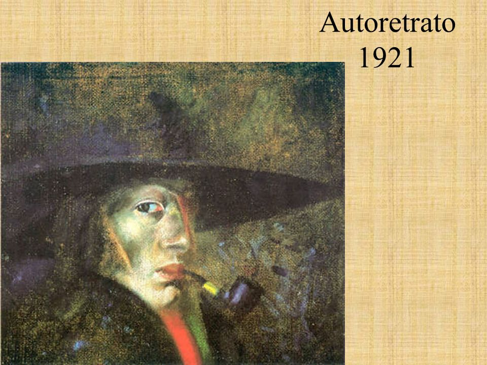 Autoretrato 1921