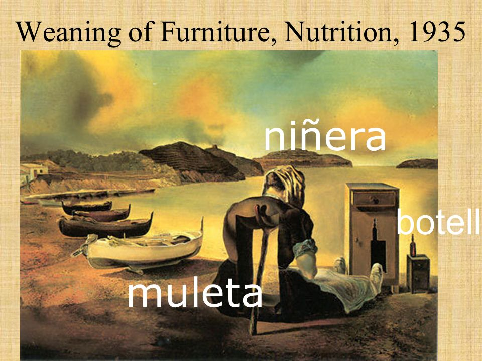 Weaning of Furniture, Nutrition, 1935