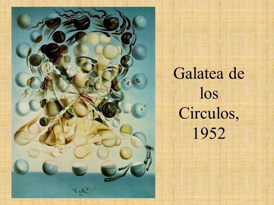 Galatea de los Circulos, 1952
