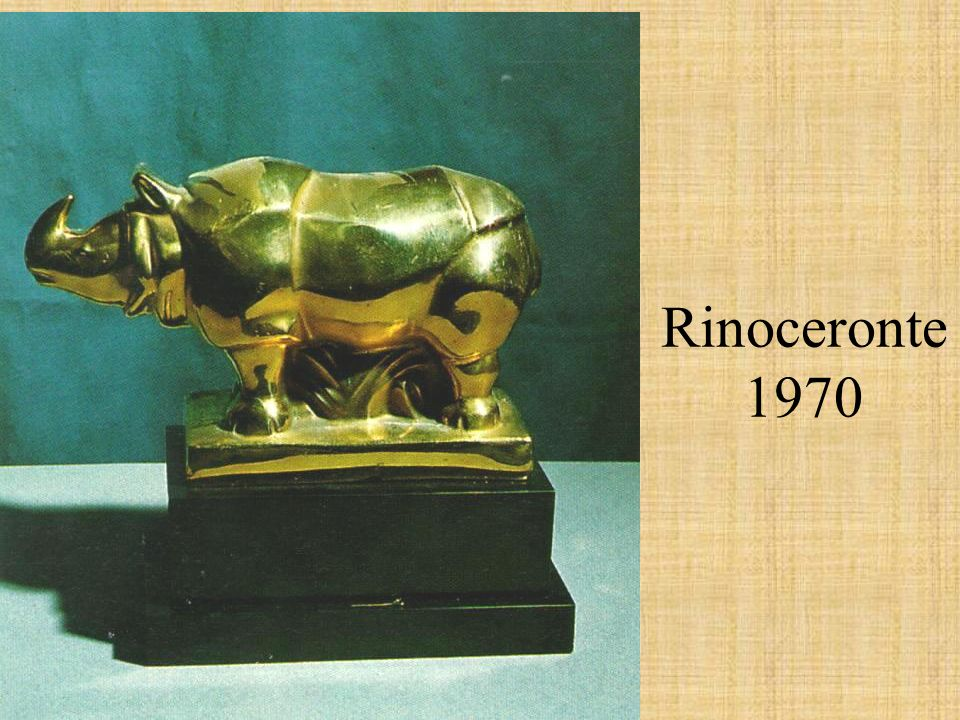 Rinoceronte 1970
