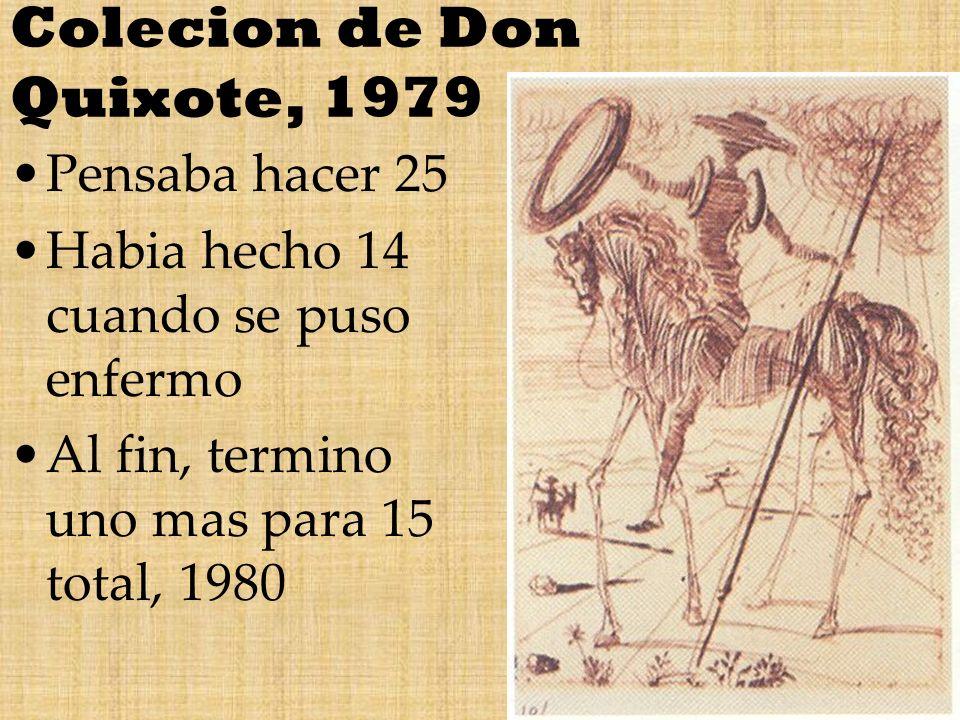 Colecion de Don Quixote, 1979