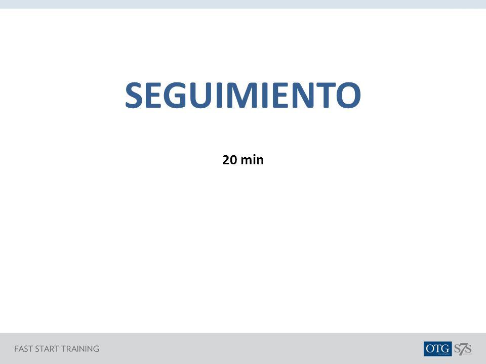 SEGUIMIENTO 20 min
