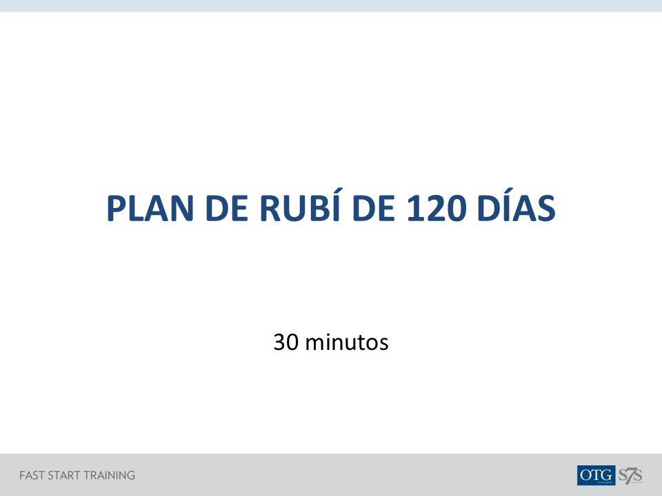 PLAN DE RUBÍ DE 120 DÍAS 30 minutos