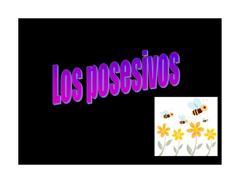 Los posesivos