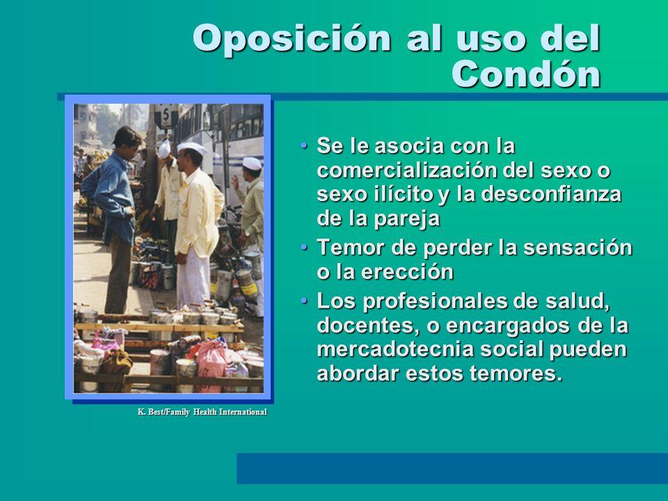 Oposición al uso del Condón